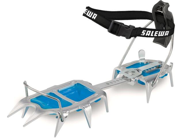 SALEWA Alpinist Alu Step In, steel/blue